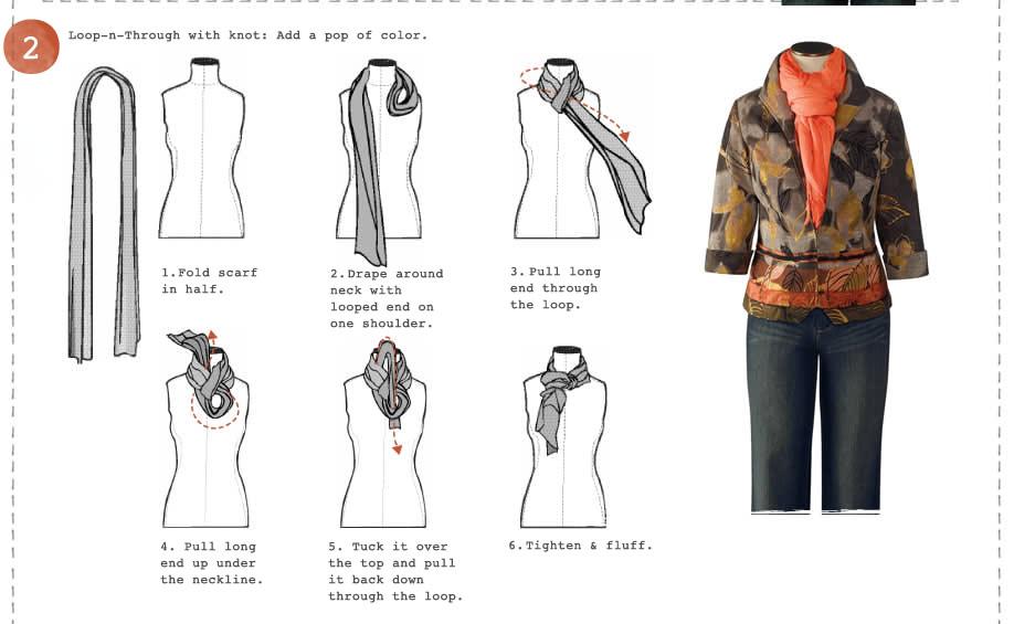 Ways to Tie a Scarf  Pleasantries & Pit Bulls Different Ways Tie Scarves Women