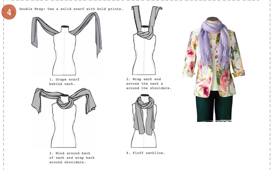 Ways to Tie a Scarf  Pleasantries & Pit Bulls Ways To Tie A Scarf For Women